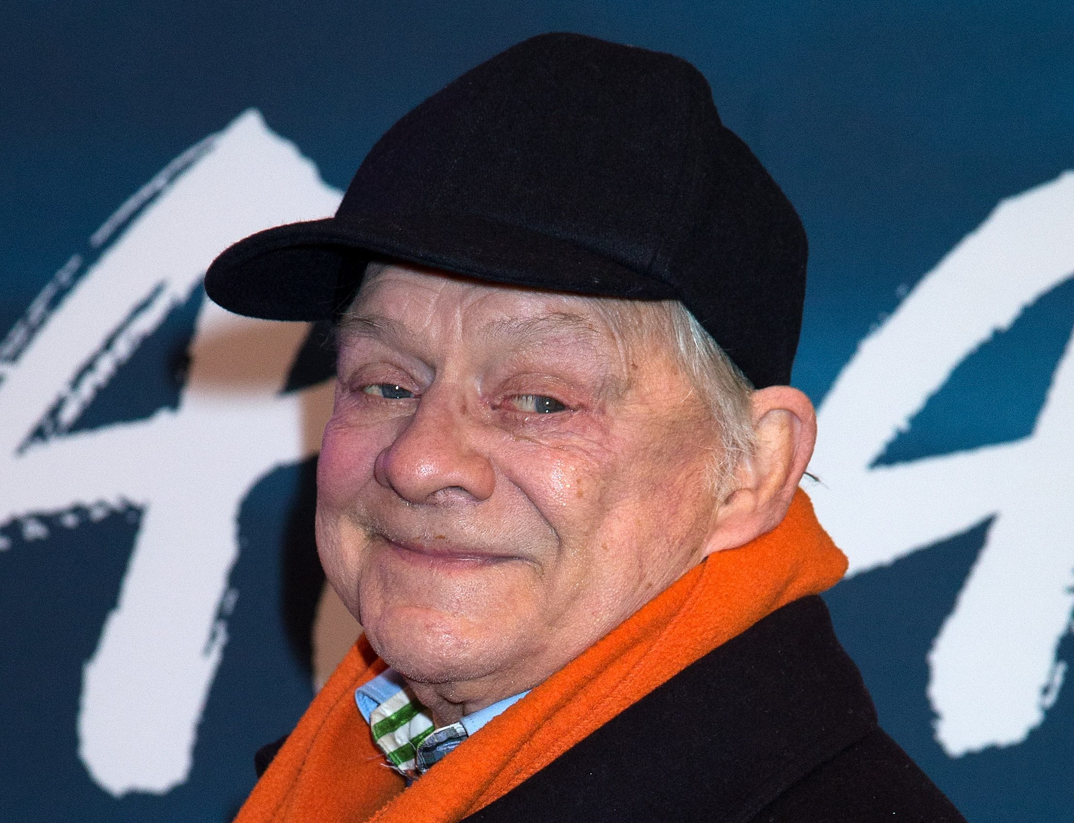 LONDON, ENGLAND - JANUARY 12: David Jason attends the blue carpet of the Cirque du Soleil: Amaluna press night on January 12, 2017 in London, United Kingdom. (Photo by Dave J Hogan/Getty Images)