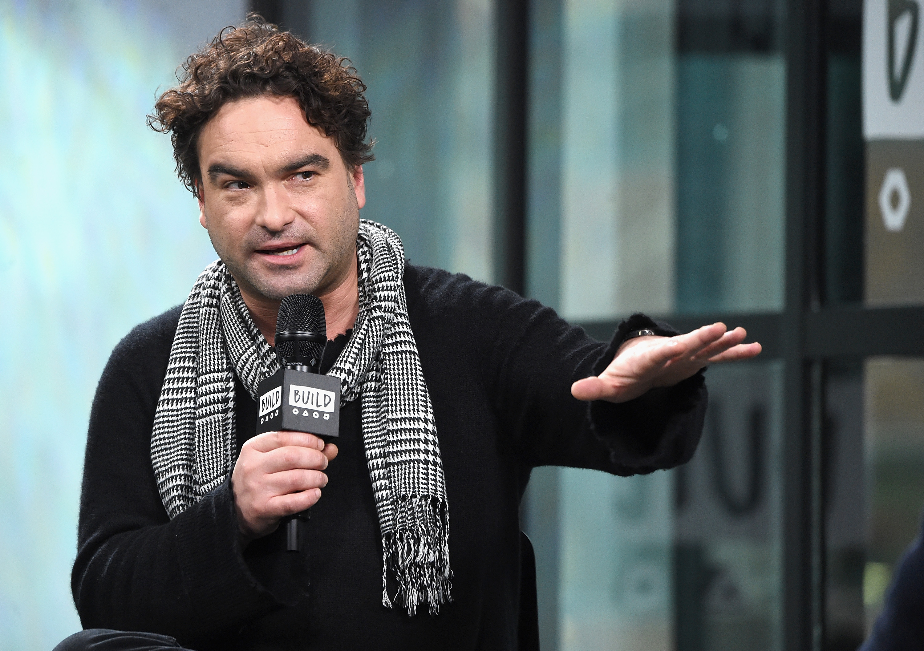 The Big Bang Theory's Johnny Galecki loved being a game show answer this week