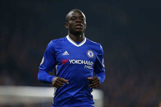 LONDON, ENGLAND - JANUARY 22: N'golo Kante of Chelsea during the Premier League match between Chelsea and Hull City at Stamford Bridge on January 22, 2017 in London, England. (Photo by Catherine Ivill - AMA/Getty Images)