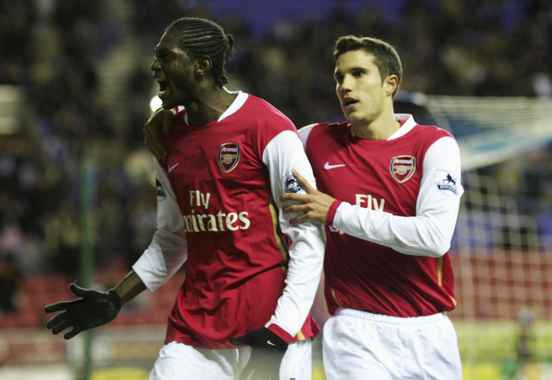 Unpopular ex-Arsenal duo Robin van Persie and Emmanuel Adebayor set for unlikely reunion