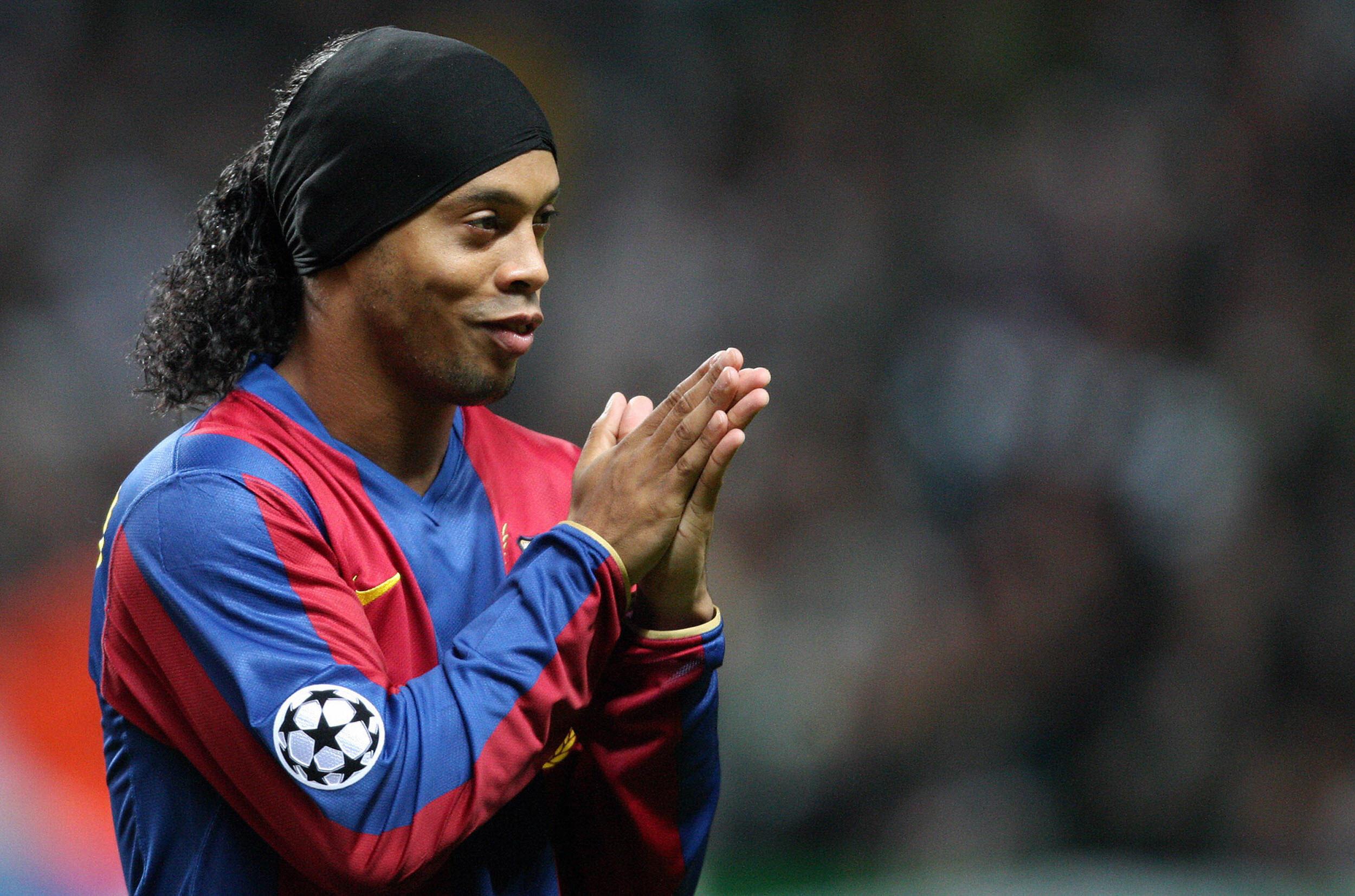 Brazil legend Ronaldinho reveals his dog was the best defender he ever faced