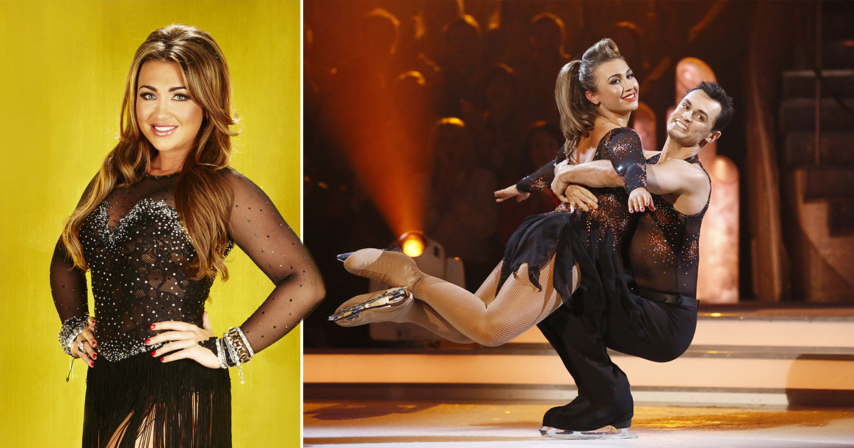 Lauren Goodger reveals she suffered a miscarriage during Dancing On Ice