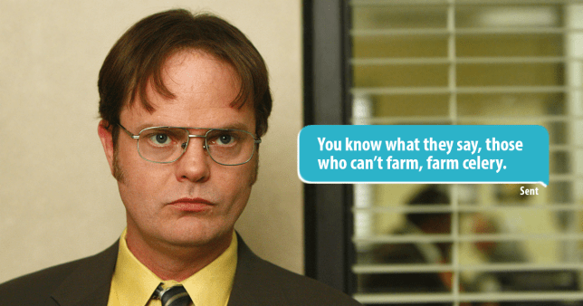 Girl Trolls Her Tinder Match Using Dwight Schrute Quotes From The