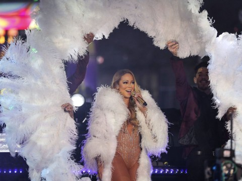 Mariah Carey responds in the only way possible to her New Year's Eve disaster performance