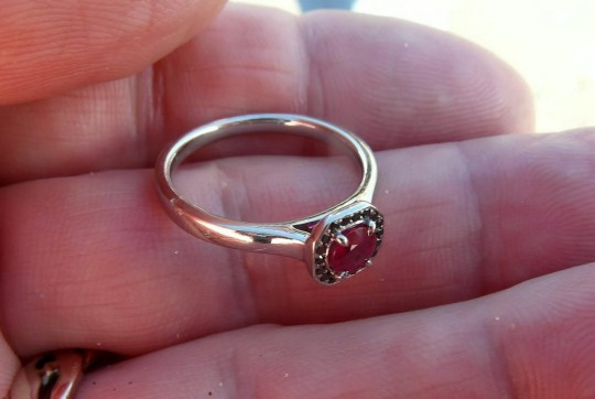 Woman Gets Engagement Ring Back After Throwing It Into Sea