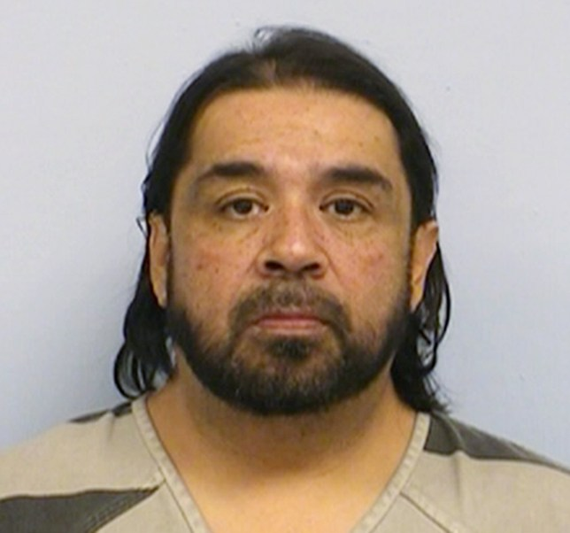 This booking photo provided by the Austin Police Department shows Florentino Herrera who is being held in Travis County Jail in Austin on charges of evidence tampering and driving while intoxicated. Authorities say Herrera tried to destroy cocaine hidden under his belly fat while being taken to jail after failing a field sobriety test early on New Year's Eve. (Austin Police Department via AP)