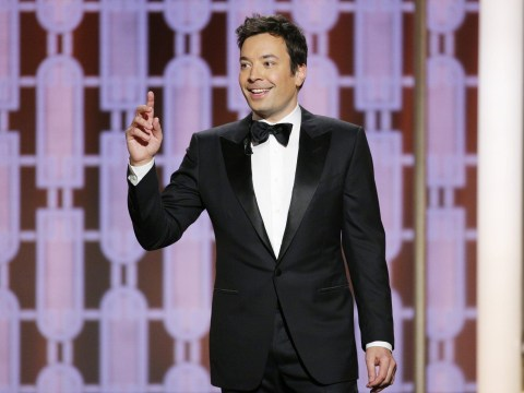 Jimmy Fallon's Golden Globes opening speech hit with technical error