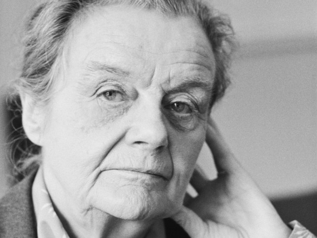FILE - British War Correspondent Clare Hollingworth Who Broke News That World War II Had Started Has Died Aged 105 British journalist and author Clare Hollingworth posed in London on 14th May 1985. (Photo by United News/Popperfoto/Getty Images)