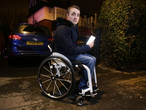 Uber driver 'abandoned disabled man on side of the road because of his wheelchair'