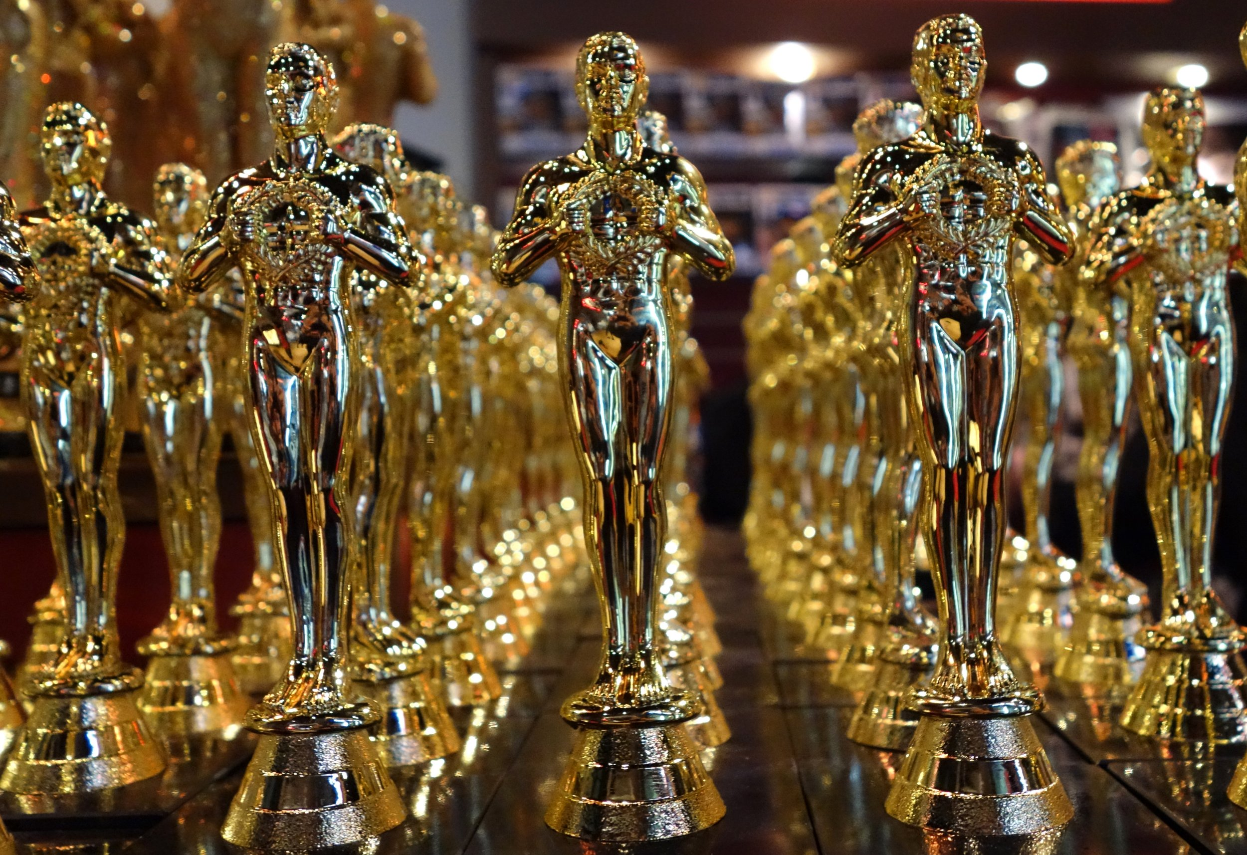 oscars (Getty) Oscar statuettes are lined up in a local souvenir shop 10 days prior to this year's upcoming Oscars, the 85th Academy Awards, in Hollywood, California, on February 14, 2013. The ceremony is scheduled for February 24, 2013. AFP PHOTO / JOE KLAMAR (Photo credit should read JOE KLAMAR/AFP/Getty Images)
