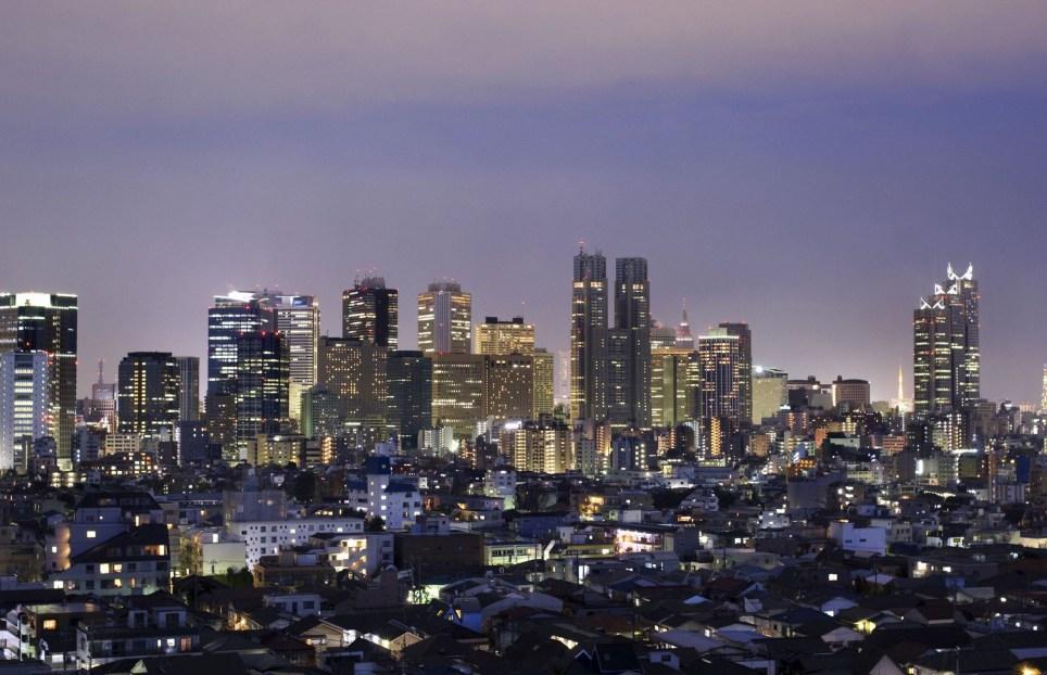 Mandatory Credit: Photo by Design Pics Inc/REX/Shutterstock (5338381a)nNishi-Shinjuku Skyline, Tokyo, JapannVARIOUSnn