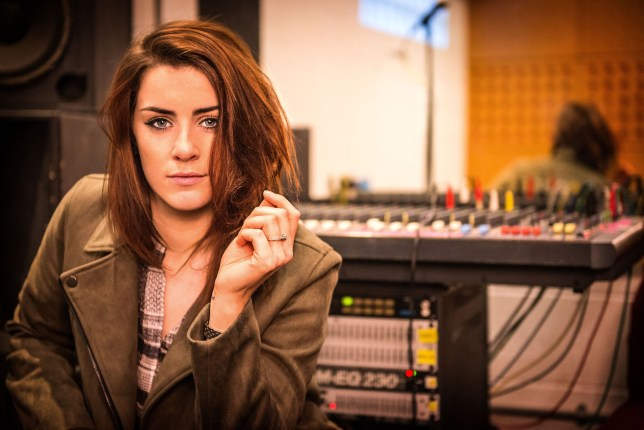 Lucie Jones is representing the UK at the Eurovision Song Contest in Kiev (Picture: BBC/PA Wire)