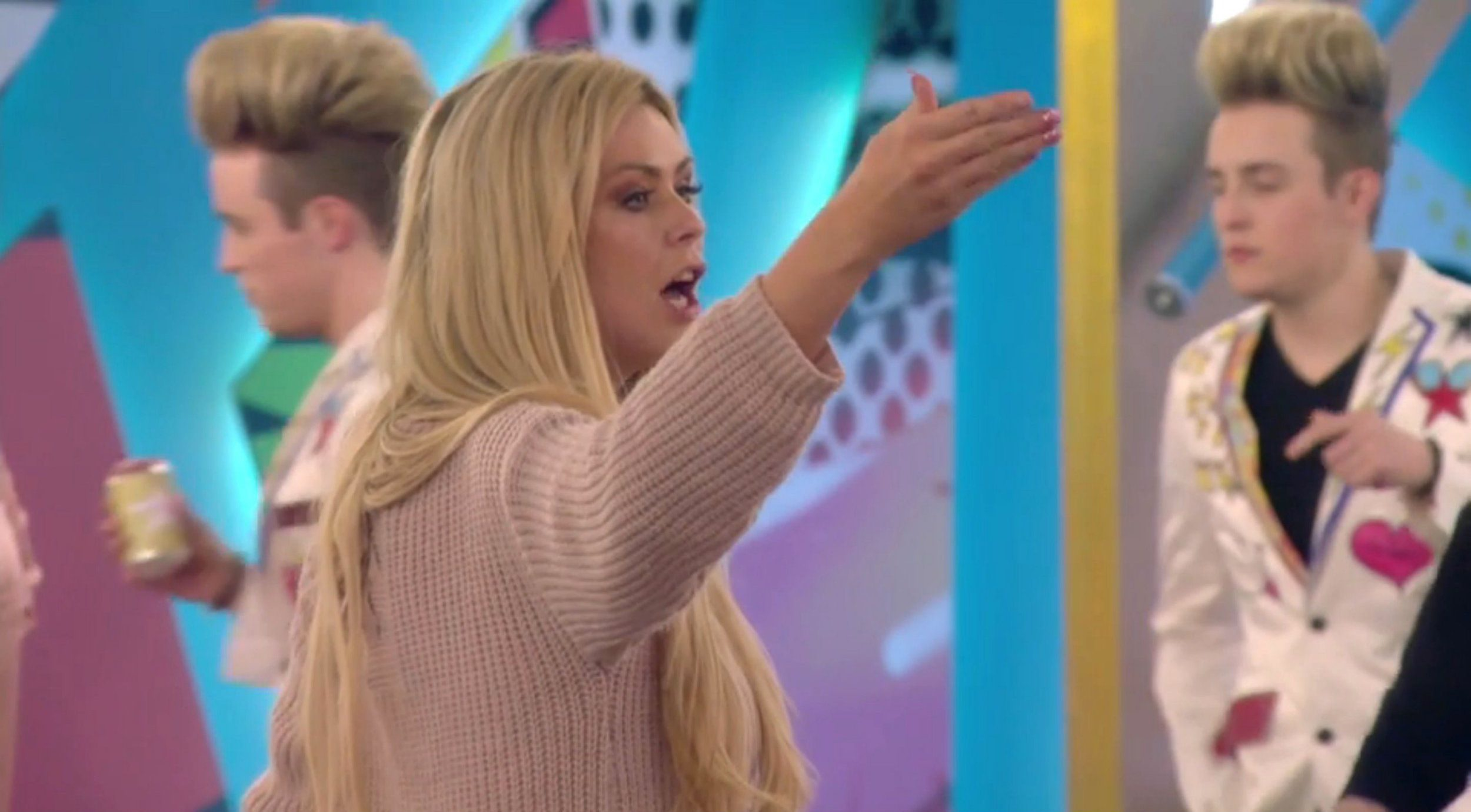 Celebrity Big Brother: Nicola threatens to quit again after another row with Jedward during task