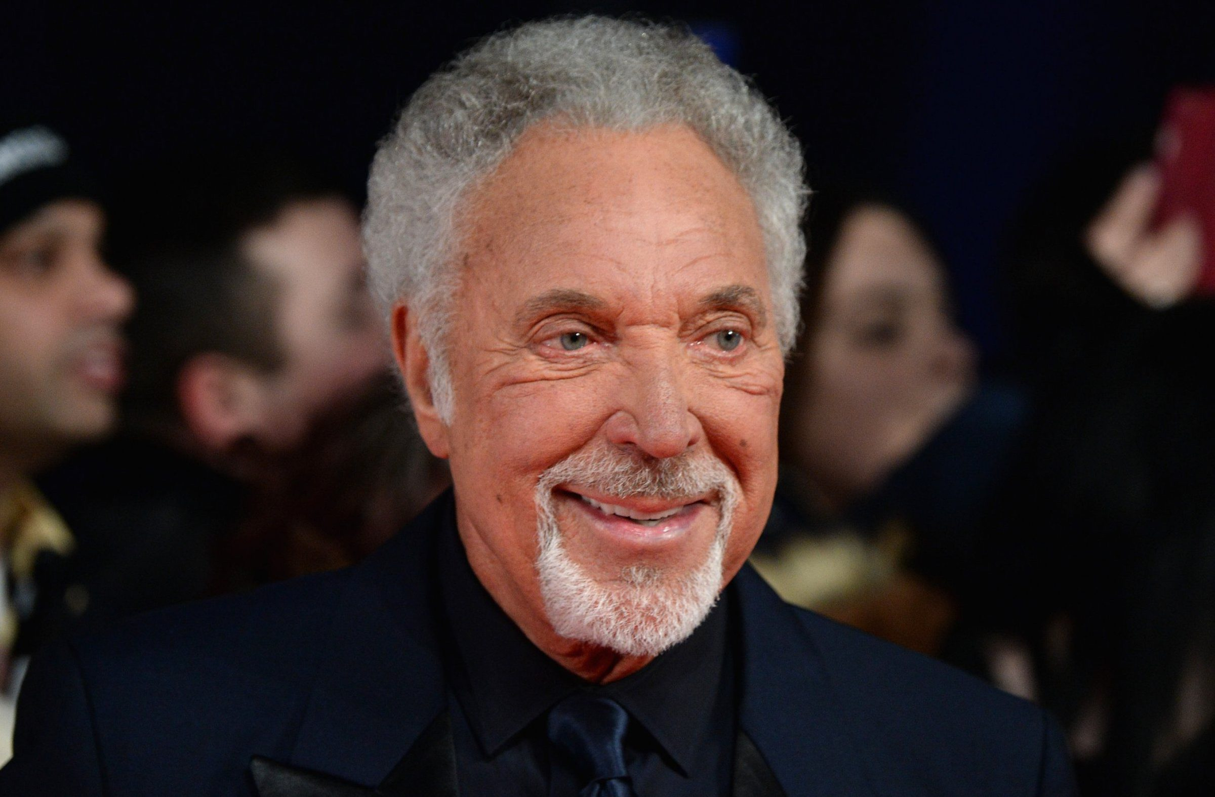 LONDON, ENGLAND - JANUARY 25: Singer Tom Jones attends the National Television Awards on January 25, 2017 in London, United Kingdom. (Photo by Anthony Harvey/Getty Images)