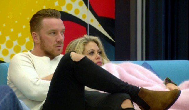 Mandatory Credit: Photo by REX/Shutterstock (8115260k) Jamie O'Hara and Bianca Gascoigne 'Celebrity Big Brother' TV show, Elstree Studios, Hertfordshire, UK - 25 Jan 2017