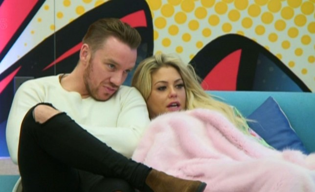 Jamie O'Hara has told Bianca Gascoigne he could really 'fall' for her (Picture: REX/Shutterstock)