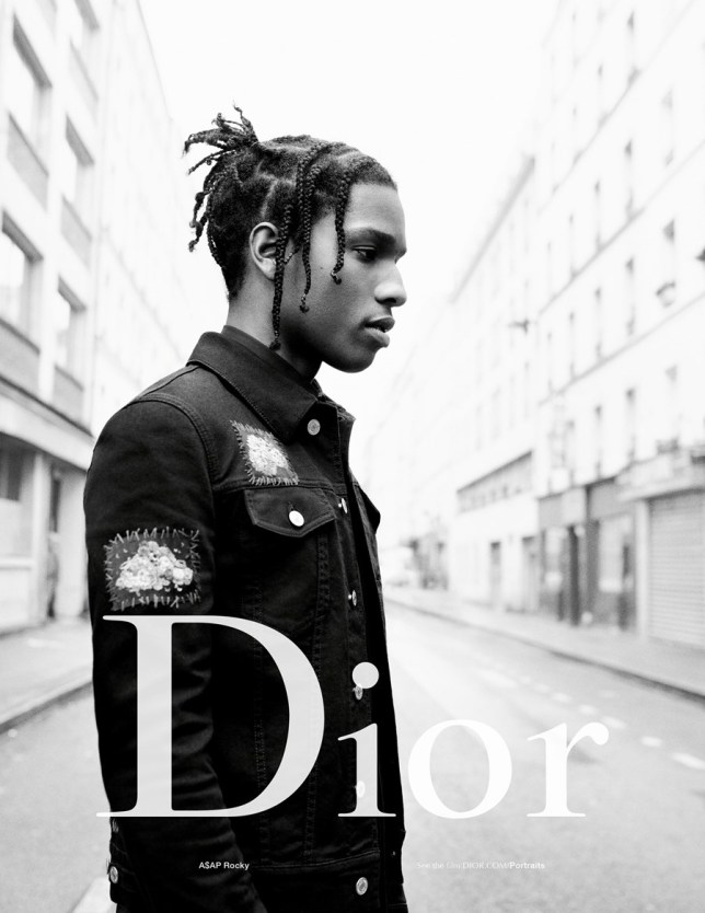 719b2652d27 Boy George and Rami Malek join A AP Rocky as the new faces of Dior Homme