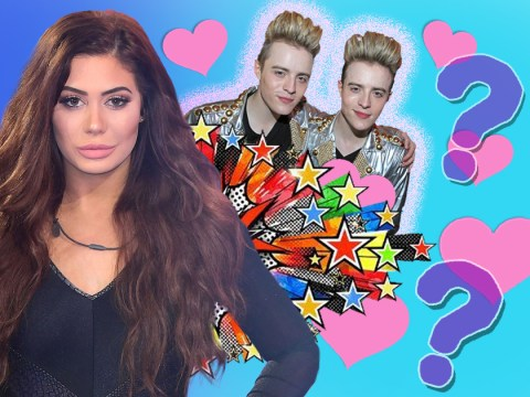 Celebrity Big Brother evictee Chloe Ferry admits to fancying one of Jedward, but she has no idea which