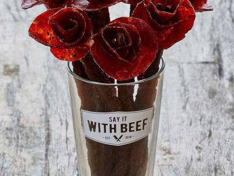 Beef jerky flowers are the only truly modern way to say 'I love you'