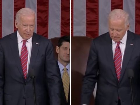 Why did Joe Biden whisper 'God Save The Queen' after certifying the US election result?