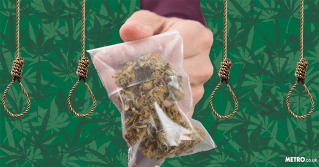 Man is given death sentence for selling weed