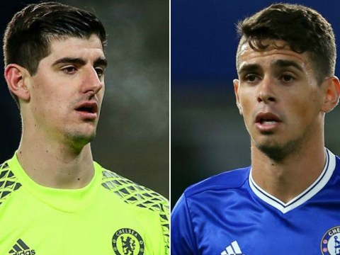 Chelsea star Thibaut Courtois aims subtle dig at Oscar following midfielder's move to China