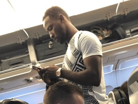 Chelsea transfer target Moussa Dembele spotted on flight to London