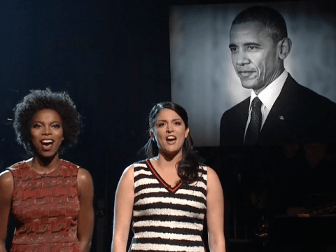 Watch Saturday Night Live's musical sketch tribute to Barack Obama