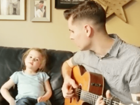 If you're having a bad day, this daddy-daughter-duo's rendition of 'You've Got a Friend In Me' will cheer you up