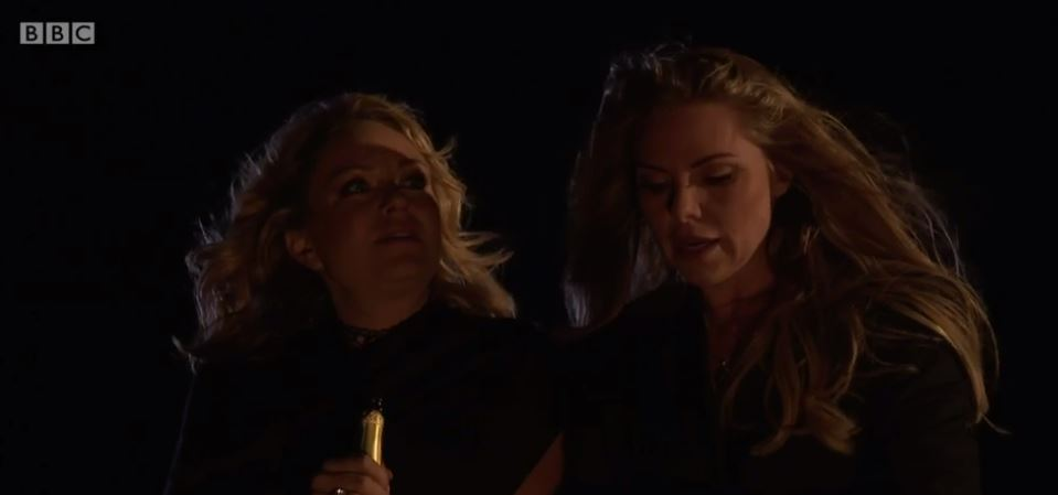 EastEnders' Samantha Womack and Rita Simons left 'broken' by Ronnie and Roxy death scene