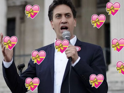 Is it just us, or did Ed Miliband get sexy?