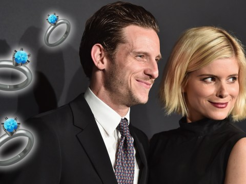 Superhero couple Jamie Bell and Kate Mara are engaged
