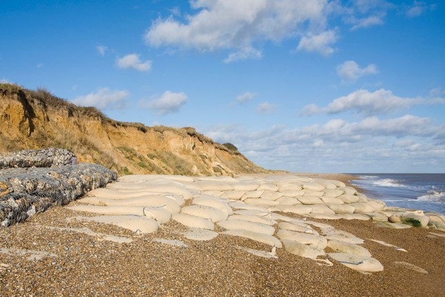 He was killed by falling cliffs at Thorpeness, Suffolk (Picture: Getty Images)