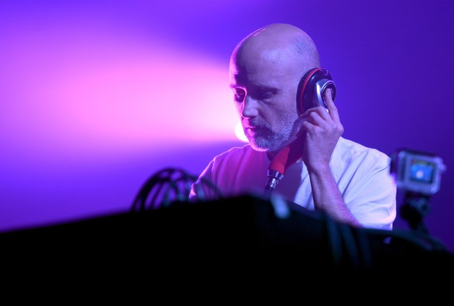 Moby wasn't keen (Picture: Getty Images for FYF)