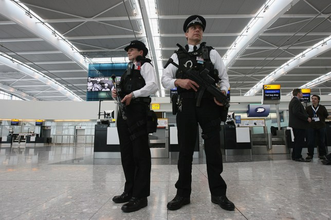 The man was arrested at Heathrow airport (Picture: Dan Kitwood/Getty)