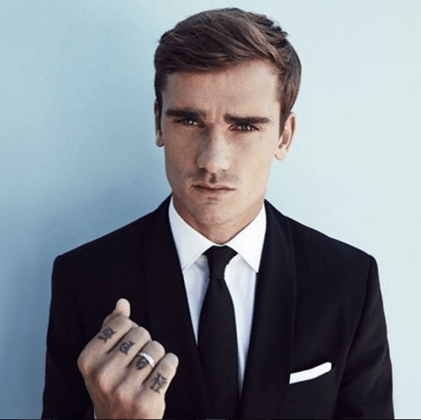 Antoine Griezmann in a casting for his next role. (Picture: Instagram)