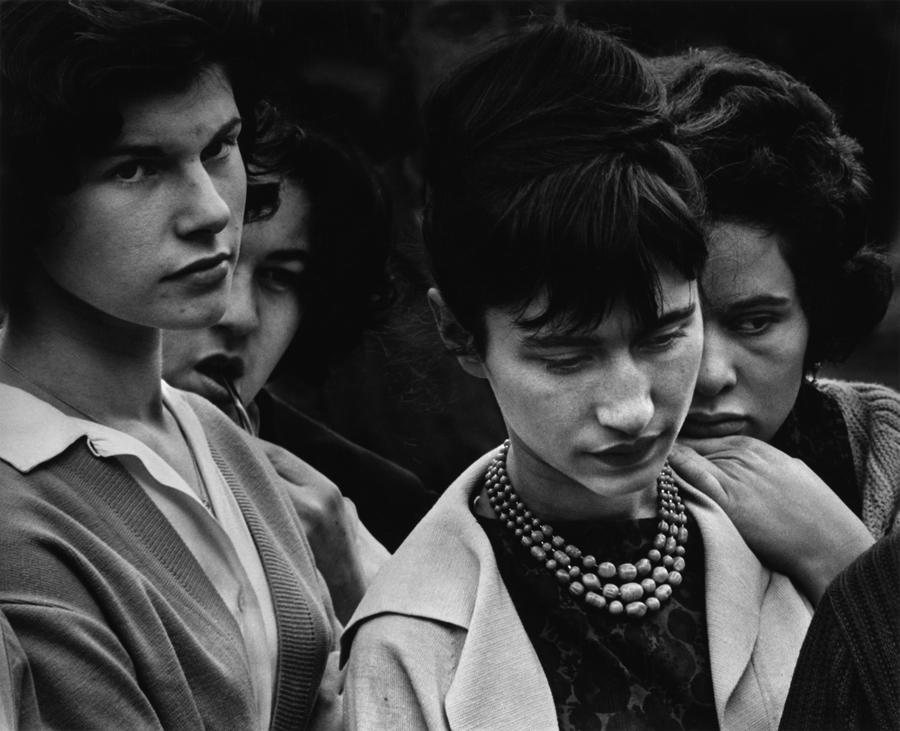 Teen beatniks in the 1950s