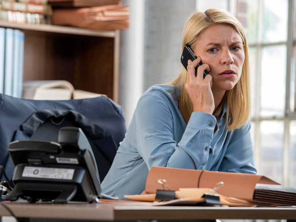 Did Homeland writers guess wrongly that Hilary Clinton would be the next US President?