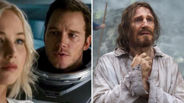 Critically panned Passengers got more Oscar nominations than Martin Scorsese's Silence