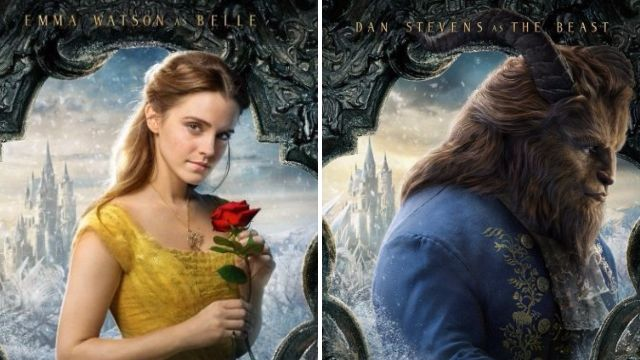 New Beauty And The Beast motion posters show off the full cast