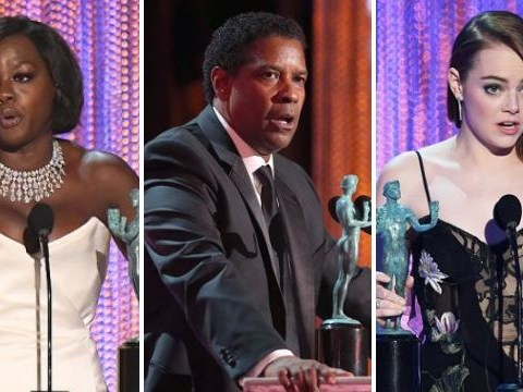 SAG Awards 2017: Denzel Washington, Emma Stone and Viola Davis feature in full winners list