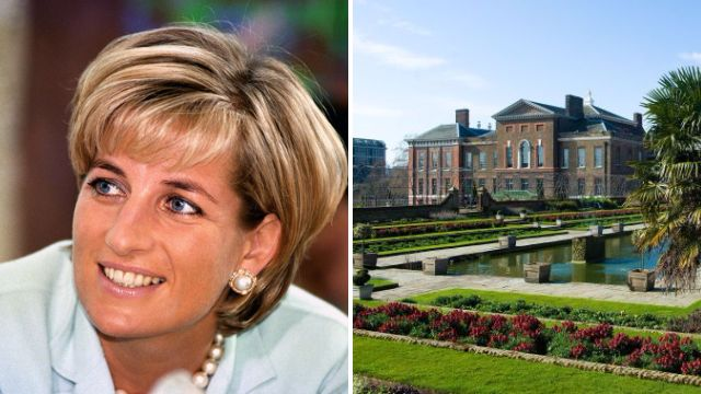 New Princess Diana memorial to be built outside Kensington Palace on 20th anniversary of her death