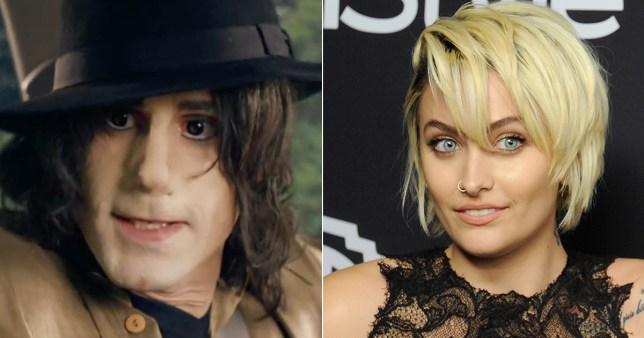 Paris Jackson offended by casting of white man to play MJ Credit Sky Arts/Getty
