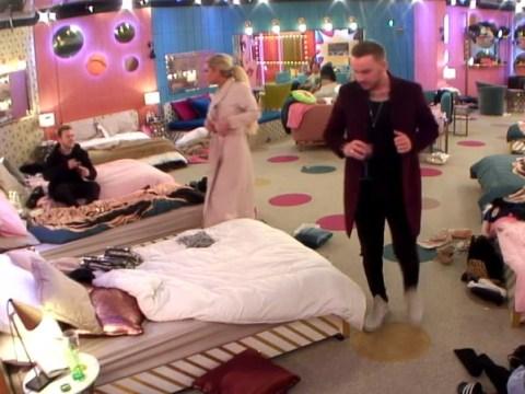 Celebrity Big Brother's Bianca Gascoigne kisses Jamie O'Hara in toilets before row with Kim Woodburn