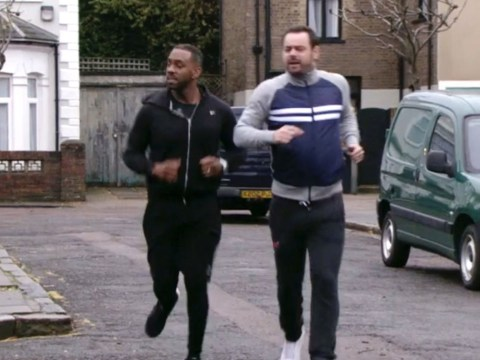 No, EastEnders didn't make a 'major blunder' with Mick Carter and Vincent Hubbard's jogging scenes