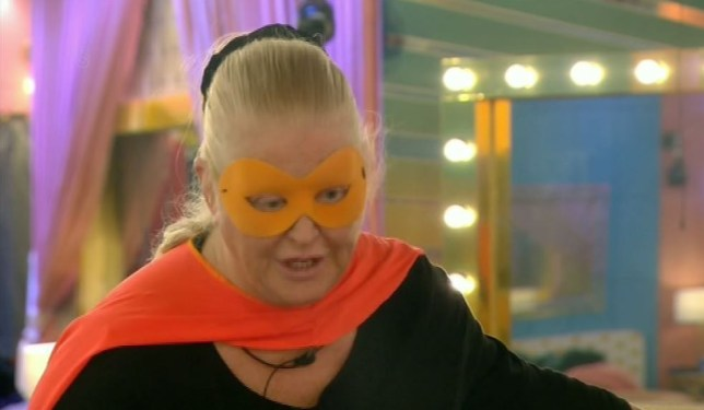 Kim Woodburn compared herself to Jesus. Yep (Picture: Channel 5)