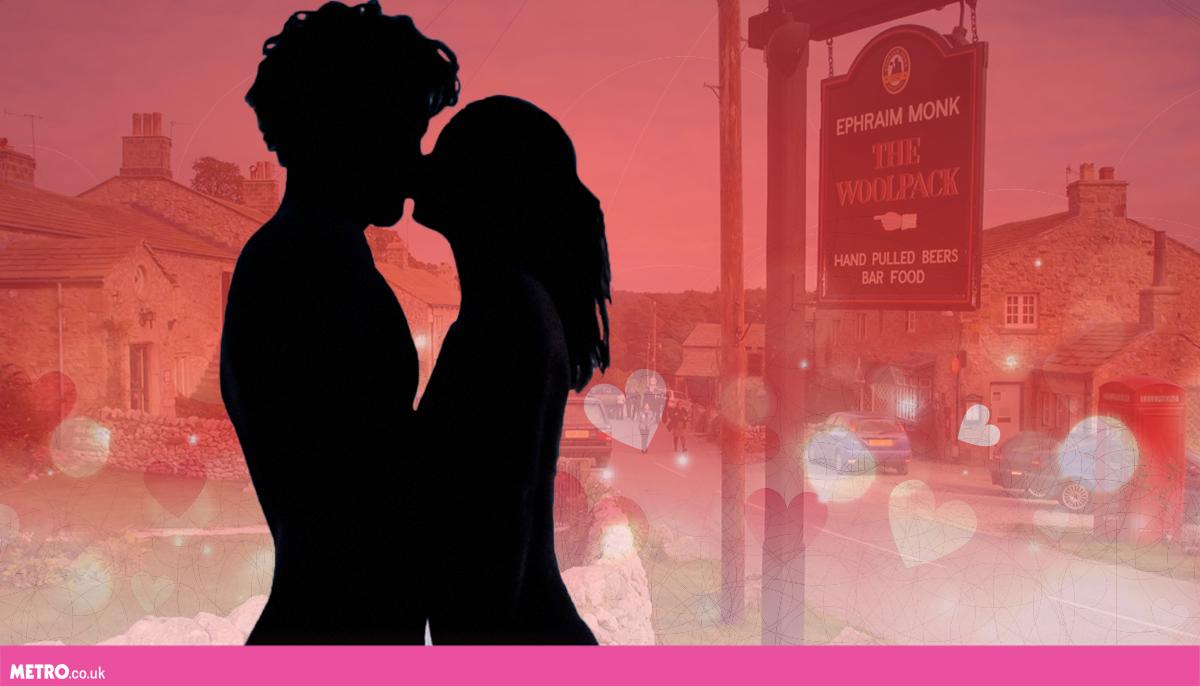 kissing-emmerdale-getty-metro