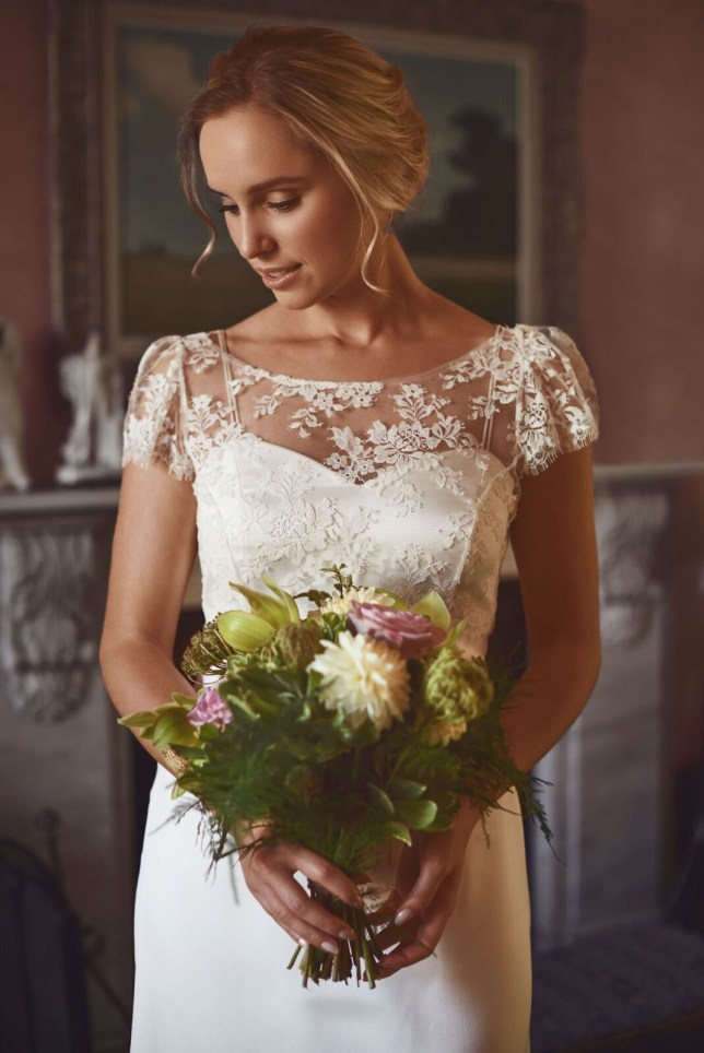 lace (Picture: lucy-martin-bridal)