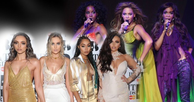 (Picture: Getty) 6PM: Little Mix equal Official Albums Chart record set by Destiny's Child