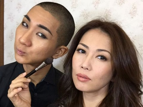 This Buddhist monk is also a celebrity makeup artist